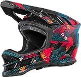 Oneal Blade Polyacrylite Helmet Rio Red S (55/56 cm) Casco Moto MX-Motocross, Adultos Unisex