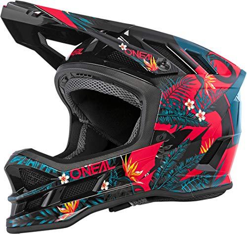 O'NEAL   Mountainbike-Helm   MTB Downhill   Dri-Lex® Innenfutter, Ventilationsöffnungen für Luftstrom und Kühlung, ABS Außenschale   Blade POLYACRYLITE Helmet Rio   Erwachsene   Rot   Größe L