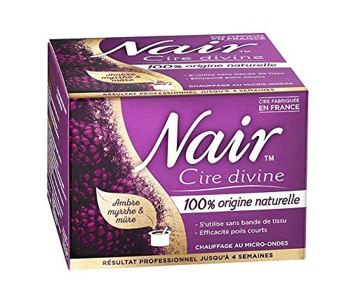 Nair Cire Divine 100% Origine Naturelle 380 g