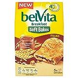 Belvita Soft Bakes, Galleta de Cerales Rellena con Chocolate , 250g