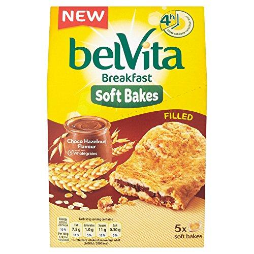 Belvita, Soft Bakes Frühstückskekse mit Schoko-Haselnuss-Füllung, 250 g