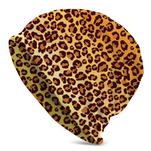 Rincvo Gorra deportiva de piel de leopardo Jaguar para hombres y mujeres