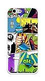 Tumundosmartphone Funda Gel TPU Orange Dive 71 / ZTE Blade A506 Comic Dibujos