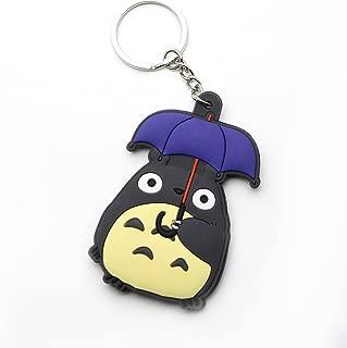 CellDesigns Japanese Anime Totoro PVC Keychain (C-Umbrella)