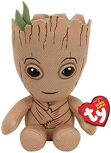 TY 41215 Groot-Marvel-Beanie, Multicolored