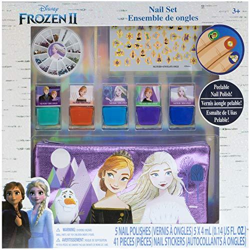 Townley Girl Disney Frozen 5er Pack Nagellack Set mit Nagelrad