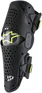 Alpinestars SX-1 Knee Guards-Black/Antracite-L/XL
