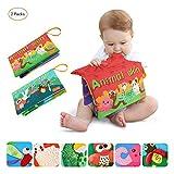 Tumama Libros Blandos para Bebé, Animales Libros de Tela para Bebes, Interactivo Aprendizaje y...