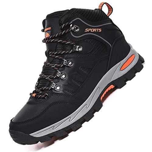 Rokiemen Uomo Donna Scarpe da Trekking Arrampicata Sportive Impermeabile Scarponi da Montagna All'aperto Escursionismo Sneakers