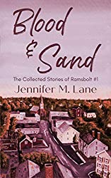 Blood and Sand by Jennifer M. Lane book cover