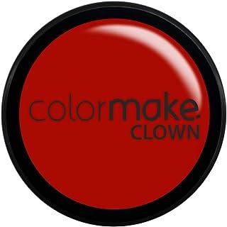 Mini Clown Makeup 8G, Colormake, Vermelho