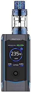 Cigarrillo electrónico Innokin Proton Plex TC Kit, 235W Proton MOD + 2ml Plex Tank Atomizer + 1.45 pulgadas TFT Pantalla E Cigarrillo, No e Liquid, No Nicotine (Blue)