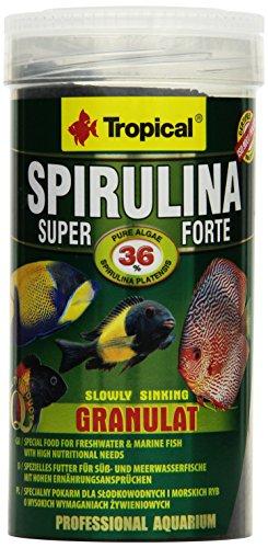 TROPICAL Super Spirulina Forte Granulat Nourriture pour Aquariophilie 250 ml