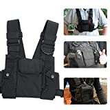 Airiton Radio Chest Harness Chest Front Pack Tactical Chest Rig Bag Functional Chest Bag Streetwear Hip Hop Bags Adjustable Vest Pack