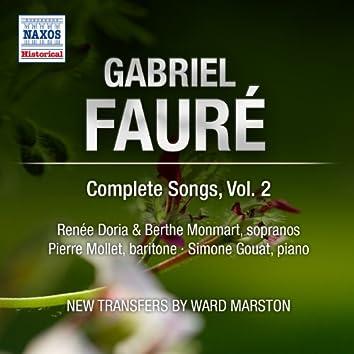 Faure: Complete Songs, Vol. 2