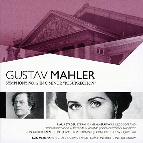 Concertgebouw Orchestra, Nan Merriman & Maria Stader