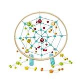 Hape- Tangled Web Toss Game (Multi-Colour) Juego de puntería Araña, Multicolor (Barrutoys E5555)