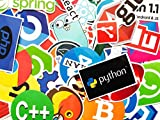 25 Random Coding Programming Stickers for Gaming Computers Laptop Phones Console Java Python C C++ Decals Teens Adults