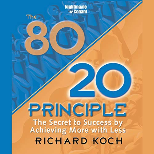 The 80/20 Principle audiobook cover art