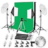 Best Continuous Lighting Kits - 2.6 x 3M/8.5 x 10FT Background Support System Review