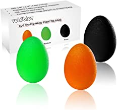 voidbiov Hand Squeeze Stress Balls Set with Carry Bag 3 Resistance, Finger Wrist Arthritis Therapy Rehab Exerciser, Carpal Tunnel, Stroke Rehabilitation Equipment