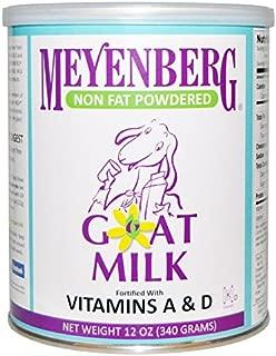 Meyenberg Goat Milk, Meyenberg Goat Milk, 無脂肪粉末ゴートミルク, 12 オンス (340 g) [並行輸入品]