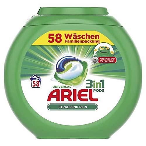 Ariel Waschmittel 3 in 1 Pods - Original - 58 Waschladungen