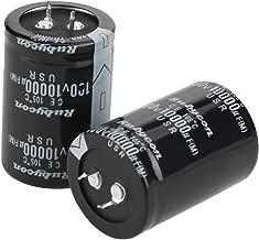 2Pcs 10000uF 100V Electrolytic Capacitor for Circuit Control,Max Temperature 105℃