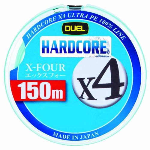 デュエル(DUEL) ライン(PE): HARDCORE X4 150m 0.6号 W: ホワイト