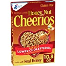 Honey Nut Cheerios, Cereal with Oats, Gluten Free, 10.8 oz