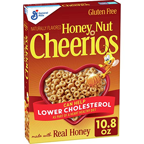 Honey Nut Cheerios Cereal with Oats Gluten Free 108 oz
