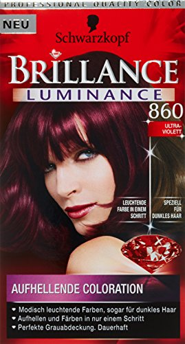 Schwarzkopf Brillance Coloration Stufe 3, 860 Ultraviolett, 143 ml
