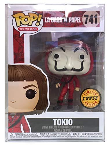 Funko POP!: La Casa de Papel: Tokio con máscara Chase