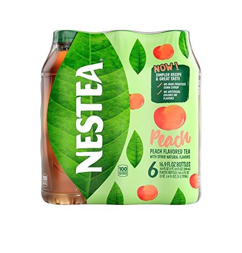Nestea Iced Tea Peach, 6 pack, 16.9 Fl Oz