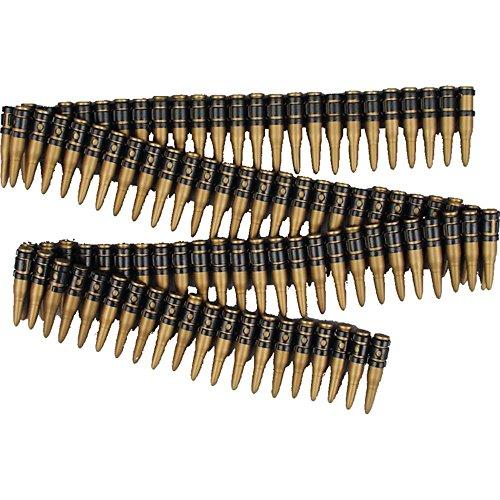 FDeluxe Fake 60 Inch Bullet Belt for Terminator 2 Costume