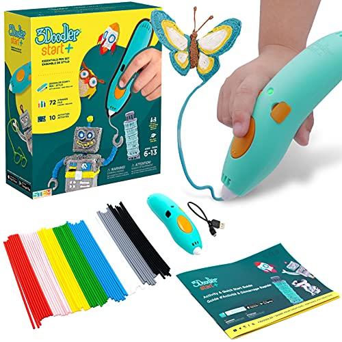 3Dペン【世界中の親子が夢中 】空中に絵を描こう(3Doodler Start+)女の子 男の子 誕生日 プレゼント 知育 おもちゃ クリスマス スリードゥードラー