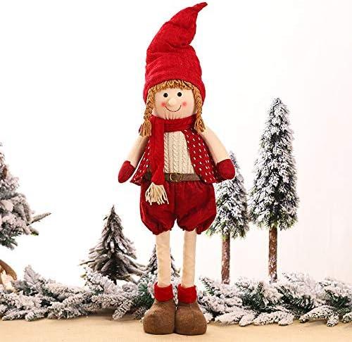 Junma Christmas Decorations Party Washington Mall Sale Special Price Doll Retractabl Decoration Elf