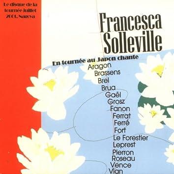 Le disque de la tournée, japon 2001