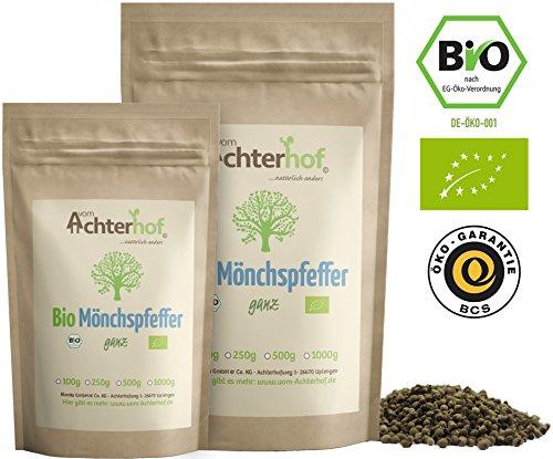 Mönchspfeffer Bio (250g) Mönchspfeffer-Tee aus kbA vom-Achterhof