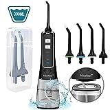 Water Flosser for Teeth, Nicefeel Portable Oral Irrigator Water Dental Flosser IPX7 Waterproof
