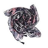 HEETEY - Bufanda para mujer, diseño de patchwork Rosa. Talla única