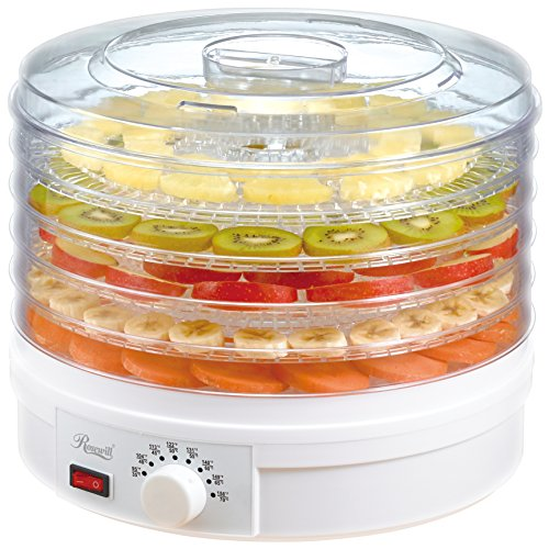 Rosewill Countertop Portable Electric Machine Food Fruit Dehydrator