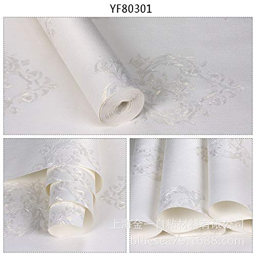 Non-Woven Self-Adhesive Wallpaper Bedroom Living Room Sofa TV Background Wall Paper Thicken Environmental Protection