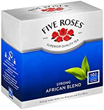 Five Roses Strong Quality Tea, 102 Tagless Teabags