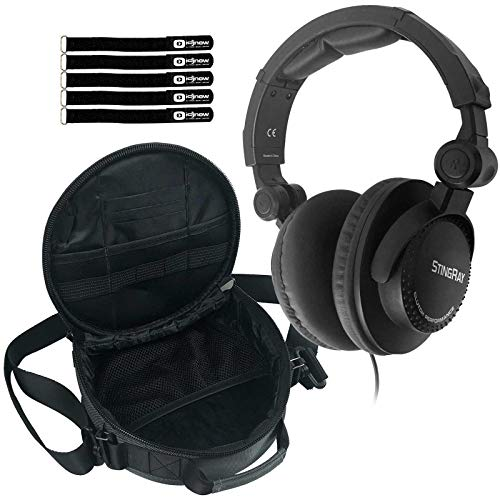 Great Features Of Clutch Stingray Performance DJ Headphones with Headphone Gear Bag Package