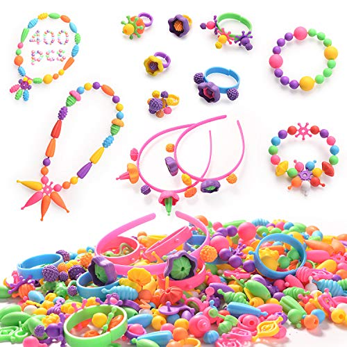 HellDoler Pop Perles, 400 Pcs Ki...