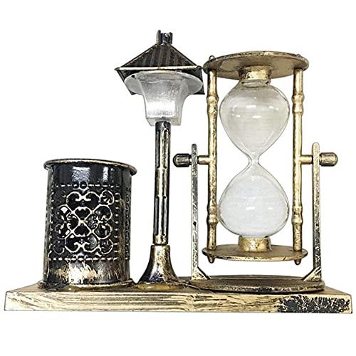 QWSNED Temporizador de reloj de arena,Decoración de escritorio para el hogar de reloj de arena,Regalos de cumpleaños de recuerdo de estudiantes,Reloj de arena de arena de reloj de cocina