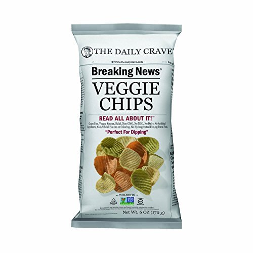 The Daily Large-scale sale Crave Veggie Chips 6 Directly managed store by Pack C Ounce of