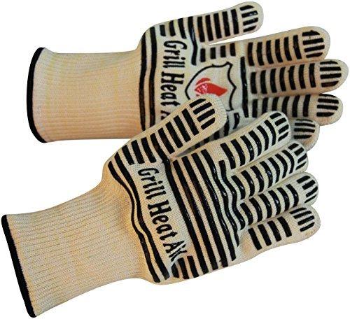 Extreme Heat Resistant Grill/BBQ Gloves | Premium...