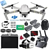 DJI Mavic Pro Platinum Quadcopter Drone with 4K Camera and Wi-Fi Fly More Combo Bundle!